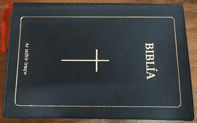 Iraqw Bible Plastic cover (CL052P)